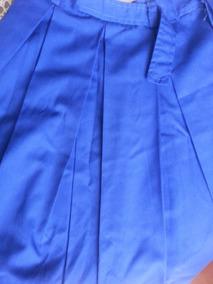 71d3510b34 Falda Azul Rey Escolar Azul Talla 10. Colegio
