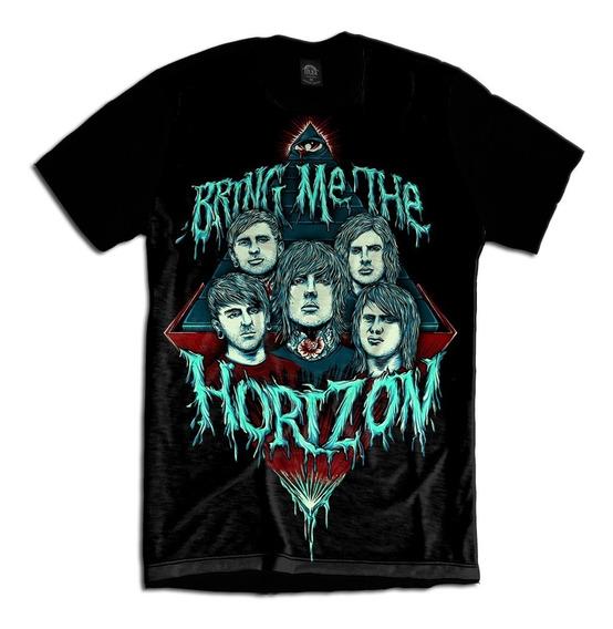 Camiseta Personalizada Bring Me The Horizon Bmth Rock Metal