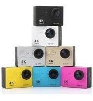 Câmera De Ação Action Go Cam Pro 4k Sports Ultra-hd Wi-fi