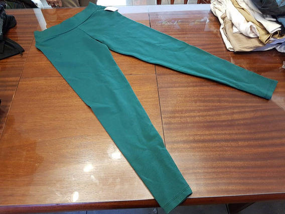 Calzas De Lycra Con Algodon De T M Y L Verde Ingles