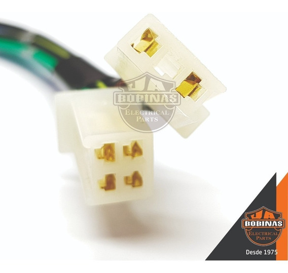 Conector Plug Terminal P/ Cdi C/ Fios Sundown Max 125 Novo