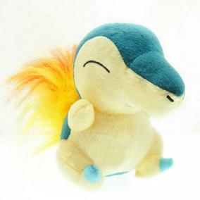 Pelúcia Cyndaquil Pokémon Pronta Entrega 17cm