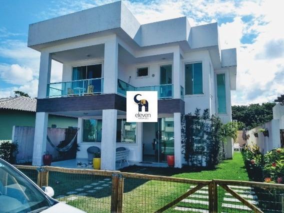 Eleven Imóveis, Casa Em Condomínio A Venda Em Abrantes 3 Suítes, 260 M². - Ca00555 - 34324006