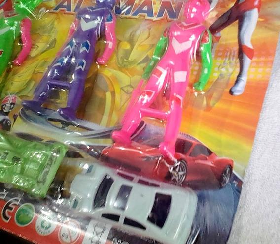 Brinquedo Ultraman (pacote)