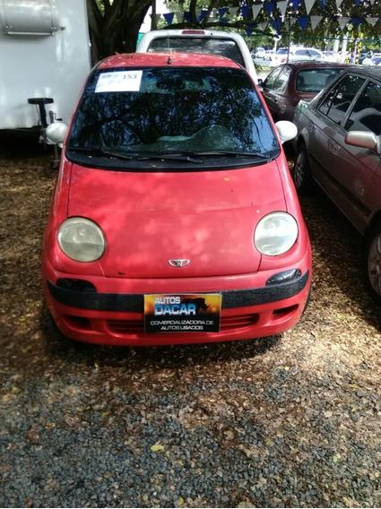 Daewoo Matiz Motor 800 2000 Rojo Intenso 5 Puertas