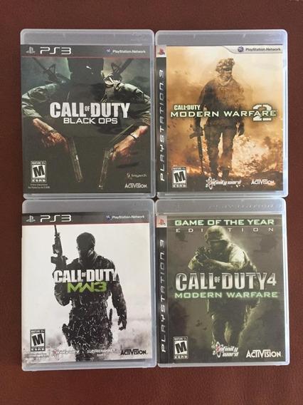 Call Of Duty Modern Warfare 1 ,2, 3 + Black Ops 1