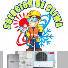Instalacion Split Reparacion De Heladera Y Carga De Gas