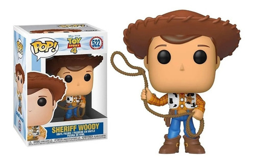 Funko Pop Woody Sheriff 522 Toy Story 4