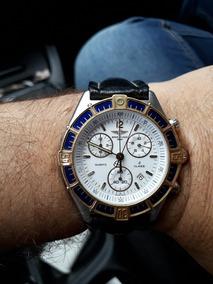 Breitling 100% Original Com.aro Em.ouro 18k Novinho