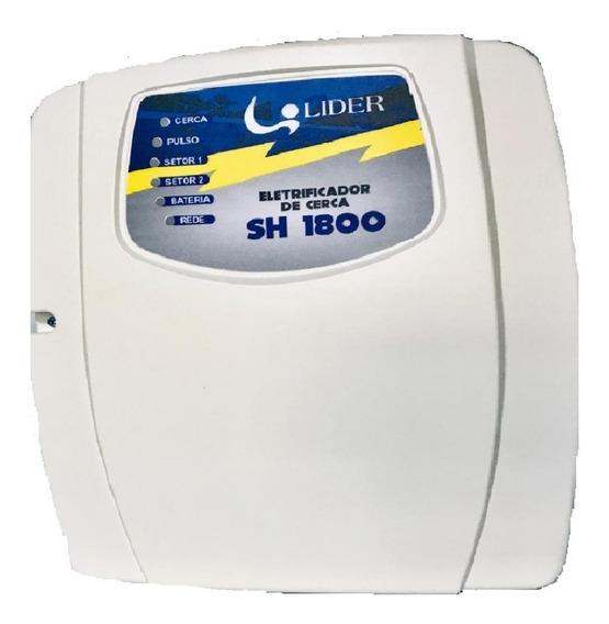 Kit Cerca Elétrica Reforçada Alarme Residencial 60metros