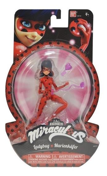 Miraculous Figuras De Ação - Ladybug