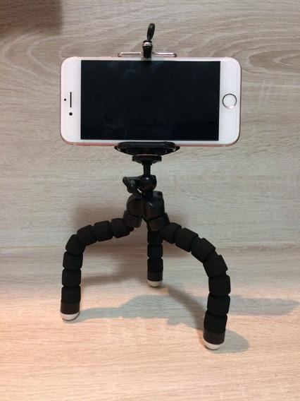 Tripe Para Celular,iPhone,até 06 Polegadas Ou 9 Centimetros