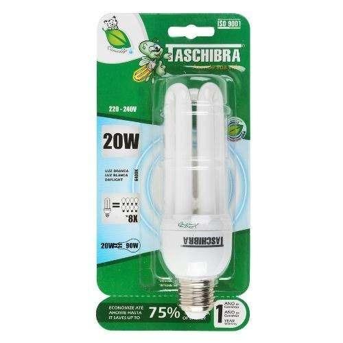 Lâmpada Compacta 25w Taschibra 127v Luz Branca 6400k