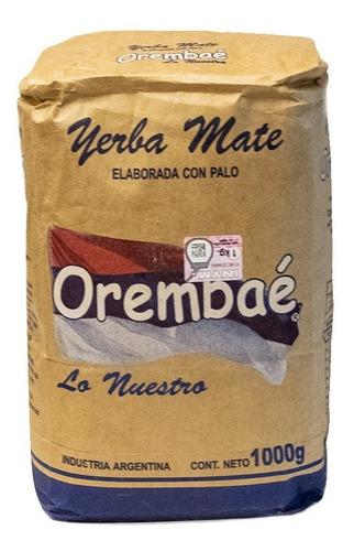 Imagen 1 de 8 de Yerba Orembae - Pack 20 X 500g