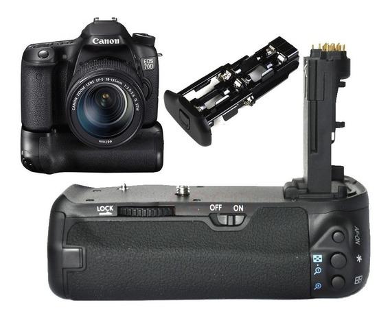 Grip De Bateria Para Canon 70d Ou 80d - Novo (bettery Grip)