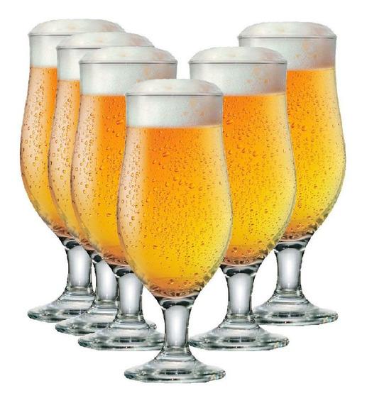 Jogo Taças Cerveja Conjunto Kit 6 Peças