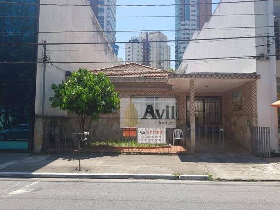 Casa Comercial Com 2 Dormitórios À Venda, 250 M² Por R$ 3.000.000 - Jardim Anália Franco - São Paulo/sp - Ca0107
