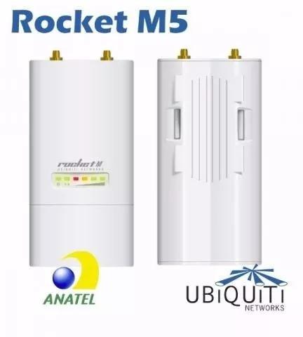 Ubiquiti Rocket M5´ Acompanha Fonte Grátis.