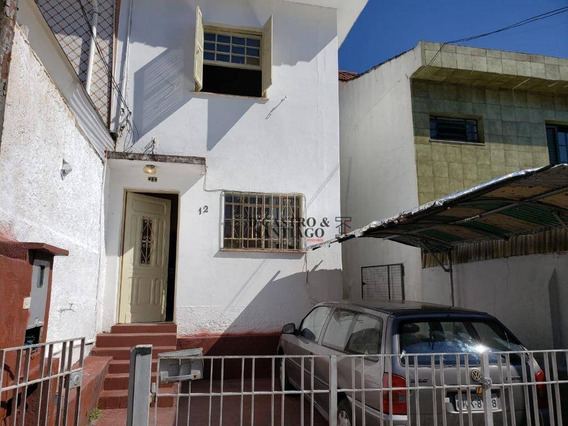 Sobrado Com 3 Dormitórios Para Alugar, 170 M² Por R$ 2.000,00/mês - Mooca - São Paulo/sp - So0226