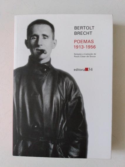 Livro Bertolt Brecht Poemas 1913-1956