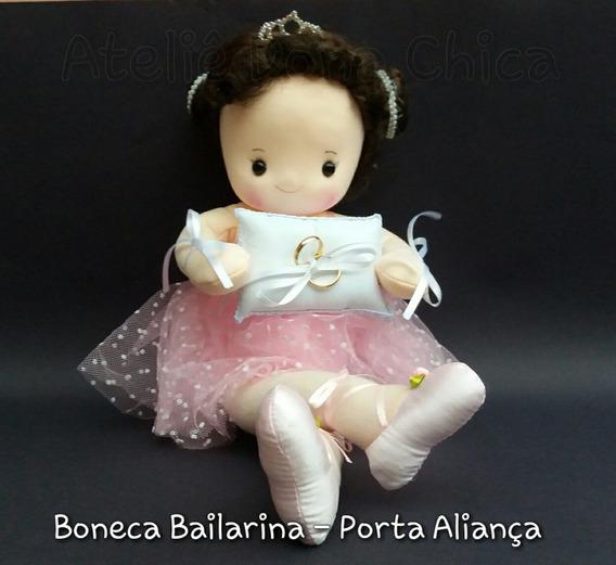 Boneca Bailarina - Porta Aliança (maximo 1 Por Compra)