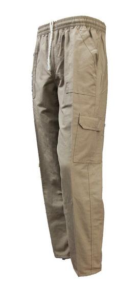 Pantalon Nautico C/ Cierre Cargo Hombre Talles Esp. 54 Al 60