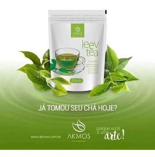 Chá Verde Misto Akmos Leev Tea 150g - Promoção Envio Imediat