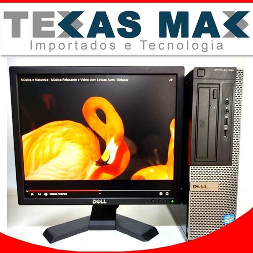 Kit Dell I5 Computador Ddr3+ Monitor 17+mouse+teclado