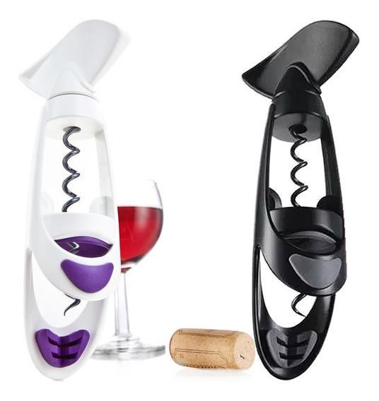 Sacacorchos Vacuvin Twister Botella Vino Tienda Pepino Saca Corchos Destapador
