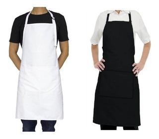 2x1 Delantales En Drill Chef Cocinero Cocina. Todo Uso