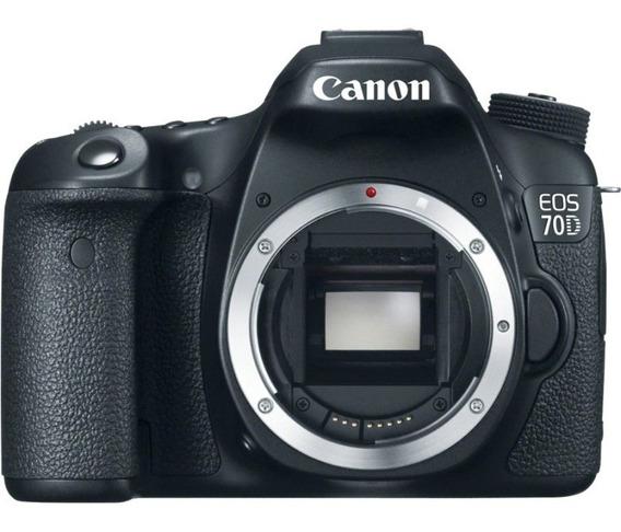 Câmera Canon Eos 70d (só O Corpo) Sem Carregador 9.800 Click