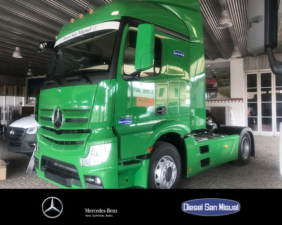 Mercedes-benz Actros 2042 Ls/37 4x2 Cd Verde
