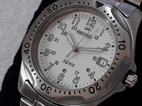 Relógio Seiko Quartz V 742, Masculino !