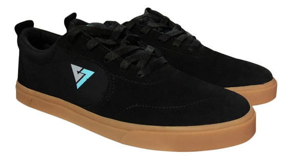 Tenis Original Reyno Footwear R-team Negro/liga Skate Shoes