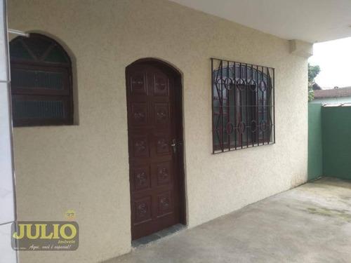 Imagem 1 de 9 de Casa Com 1 Dormitório À Venda, 38 M² Por R$ 250.000,00 - Flórida Mirim - Mongaguá/sp - Ca3746
