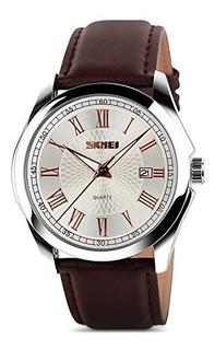 Reloj Para Hombre Reloj Único Numeral Romano Cuarzo Análogo