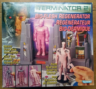 Juguete Terminator 2 Kenner Caja Original Figuras Accion