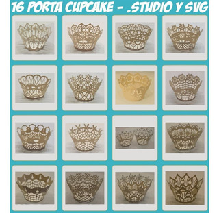 Silhouette Cameo Archivos De Corte Porta Cupcake 1 Plotter