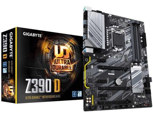 Imagem 1 de 5 de Placa Mãe Z390 D Intel Lga 1151 Atx Ddr4 Gigabyte