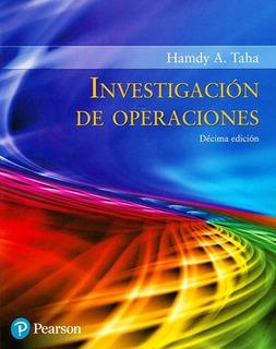 Libro Investigación De Operaciones / Taha / Ed Pearson