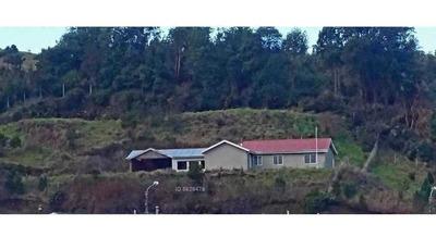 Inigualable Terreno Con Casa En Centro De Dalcahue. Chiloé.