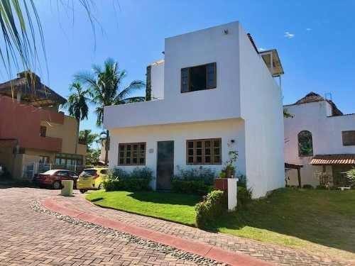 Casa En Coto Con Alberca En Refugio Laguna - Mezcales
