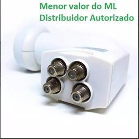 Kit 2 Lnb 4 Saidas Quadruplo Novo + 2 Simples