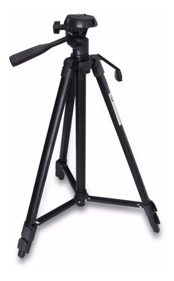 Tripe Universal Aluminio 1.50mt Camera Filmadora Telescopio
