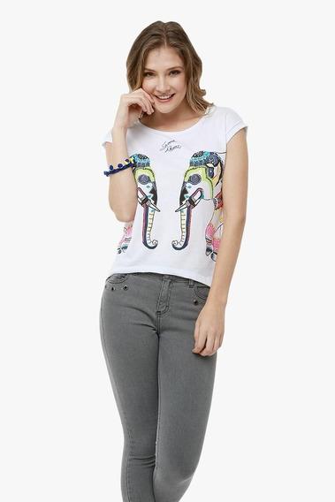 Playera Elefantes Adc