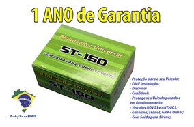 30 X Alarme Bloqueador Automotivo Veicular St150
