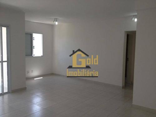 Imagem 1 de 17 de Apartamento Com 2 Dormitórios Para Alugar, 82 M² Por R$ 1.680/mês - Vila Do Golf - Ribeirão Preto/sp - Ap2573