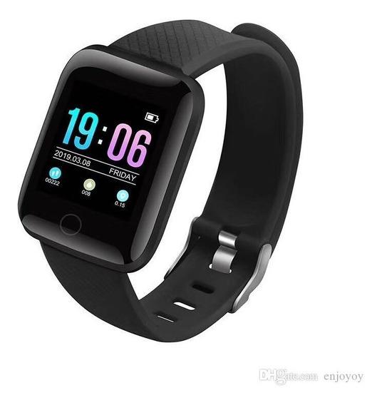 Smartwatch 116 Plus Monitor De Ritmo Cardiaco Deportes