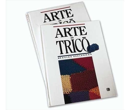 Livro Arte Em Trico Editora Tres