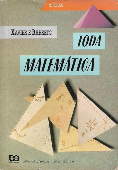 Toda Matemática 2° Grau (livro Do Professor)